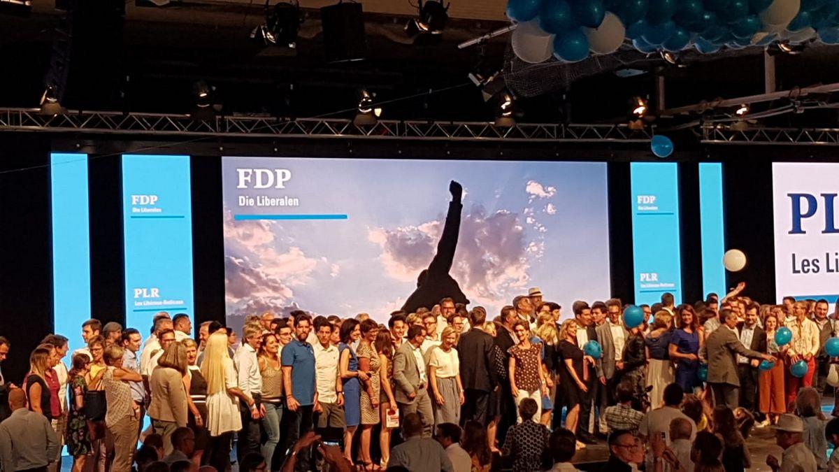 Lancement de campagne PLR Aarau